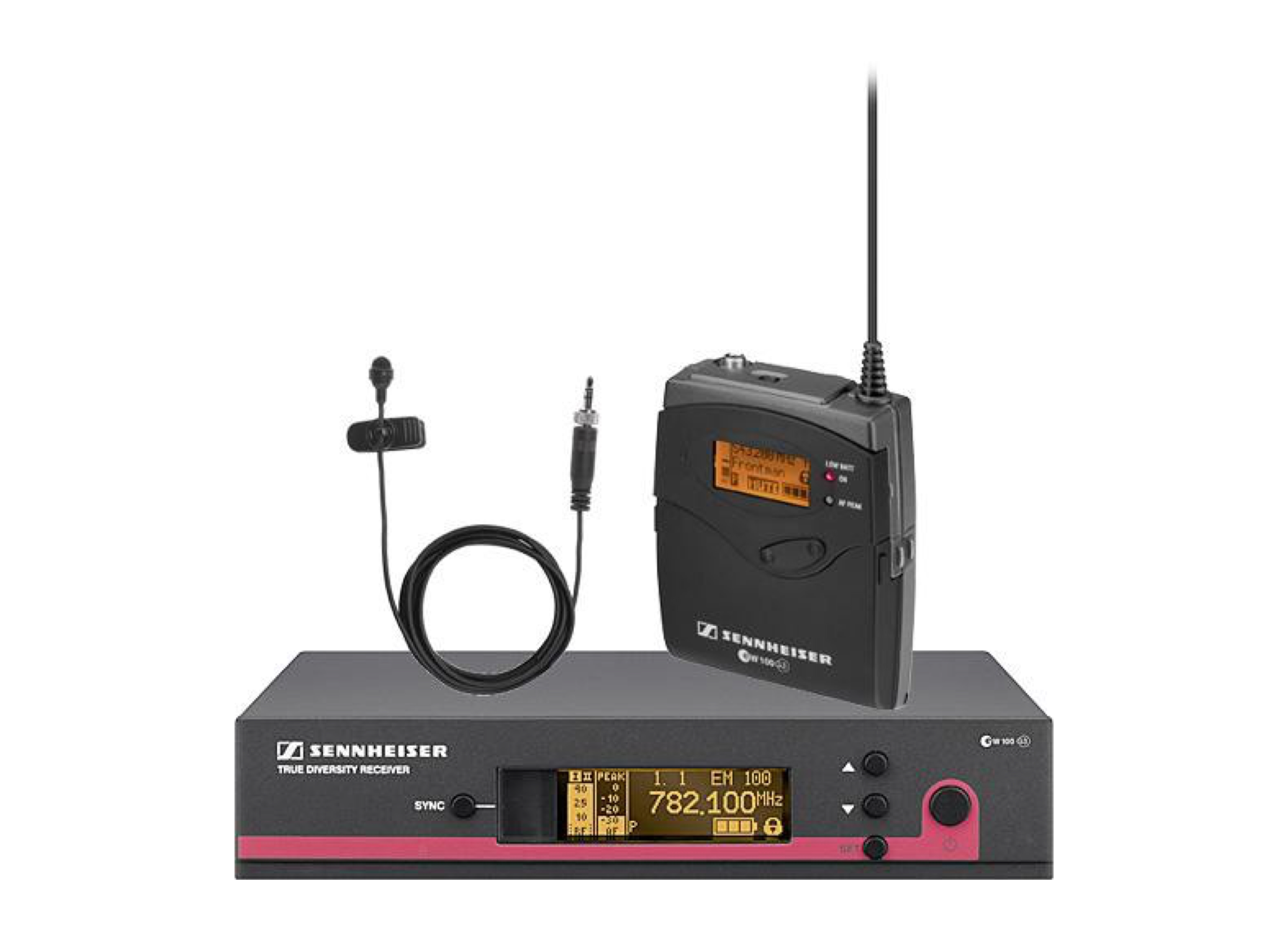 SENNHEISER EW112 G3 LAVALIER RADIO MICROPHONE SET (SINGLE)