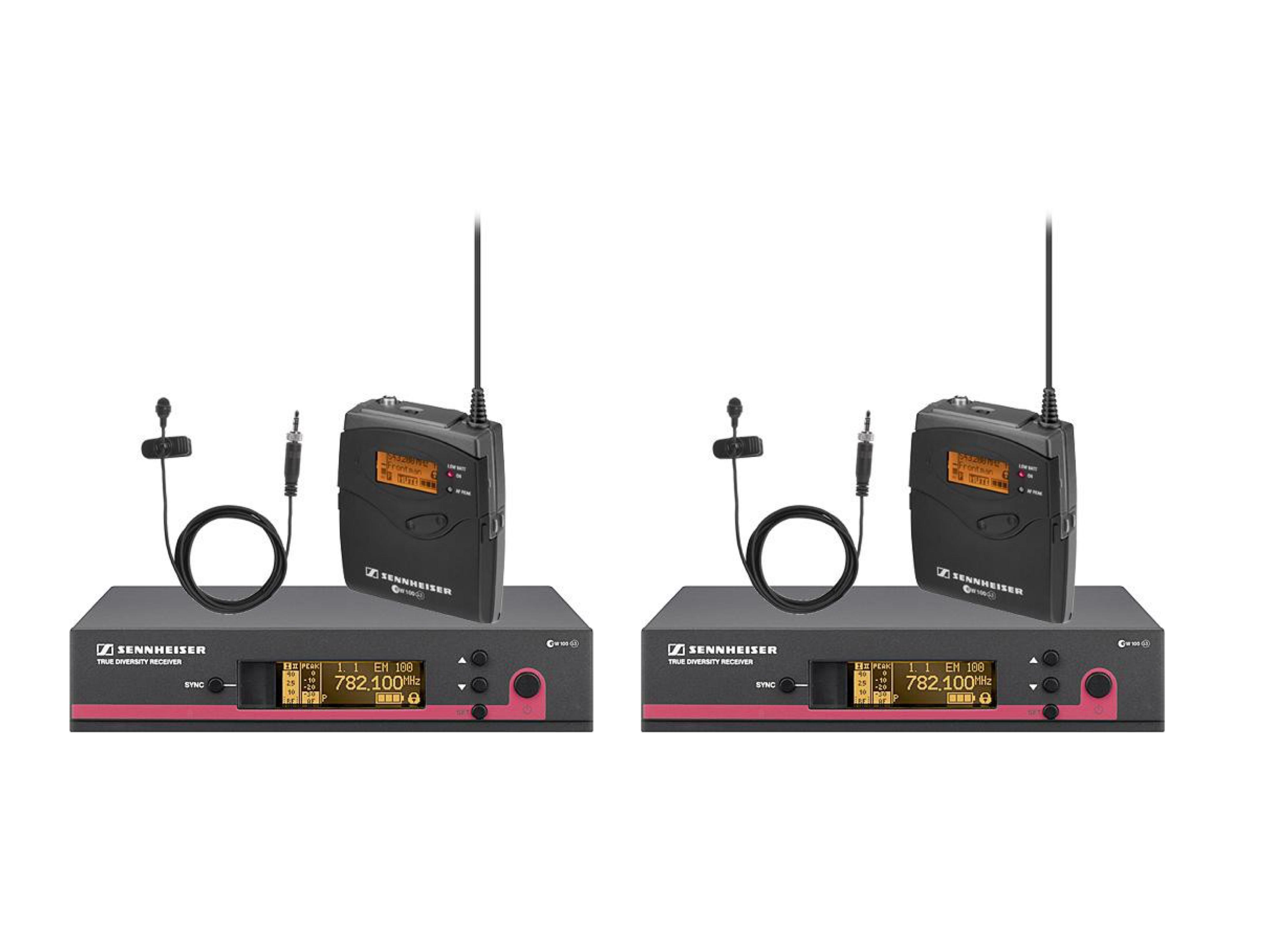 Sennheiser EW112 G3 Lavalier Radio Microphone Set (x2)