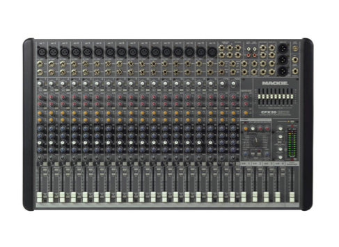 Mackie CFX20 20 Channel Mixing Desk Incl. FX