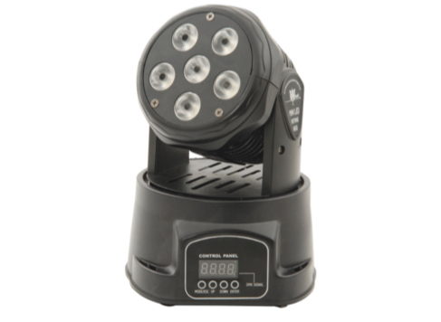QTX MW-6 Mini Moving Head LED Wash