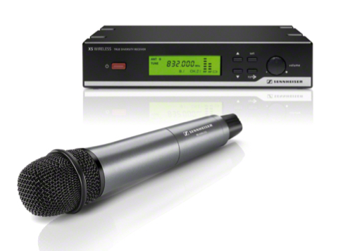 SENNHEISER XSW35-GB VOCAL WIRELESS MICROPHONE SET (SINGLE)