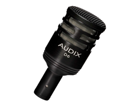 Audix D6 Bass Drum Microphone