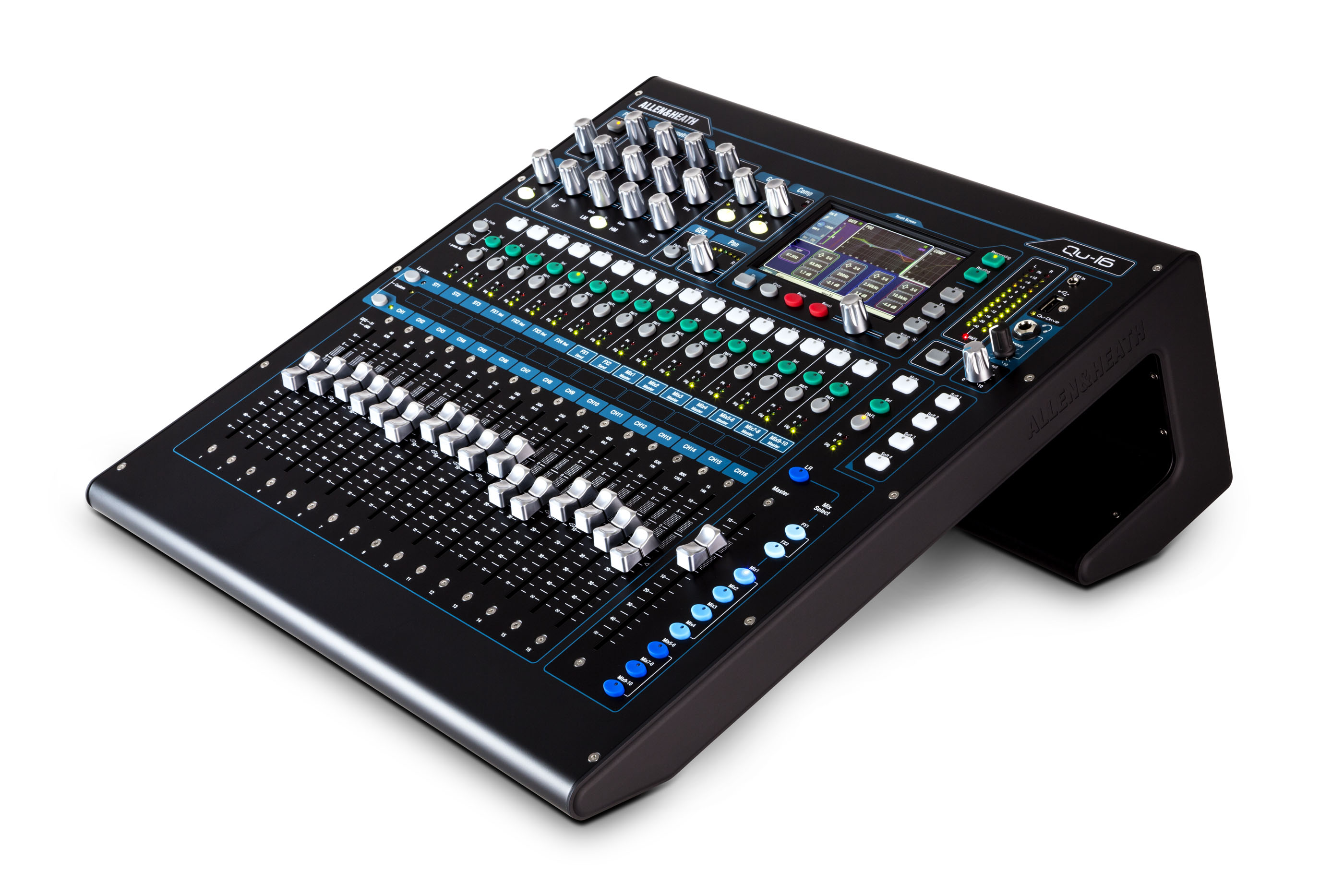 Allen & Heath Qu16 Chrome Digital Mixing Desk