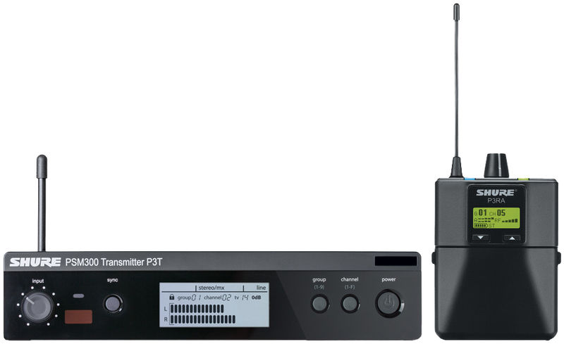*NEW PRODUCT* SHURE PSM 300 PREMIUM WIRELESS MONITORING SYSTEM