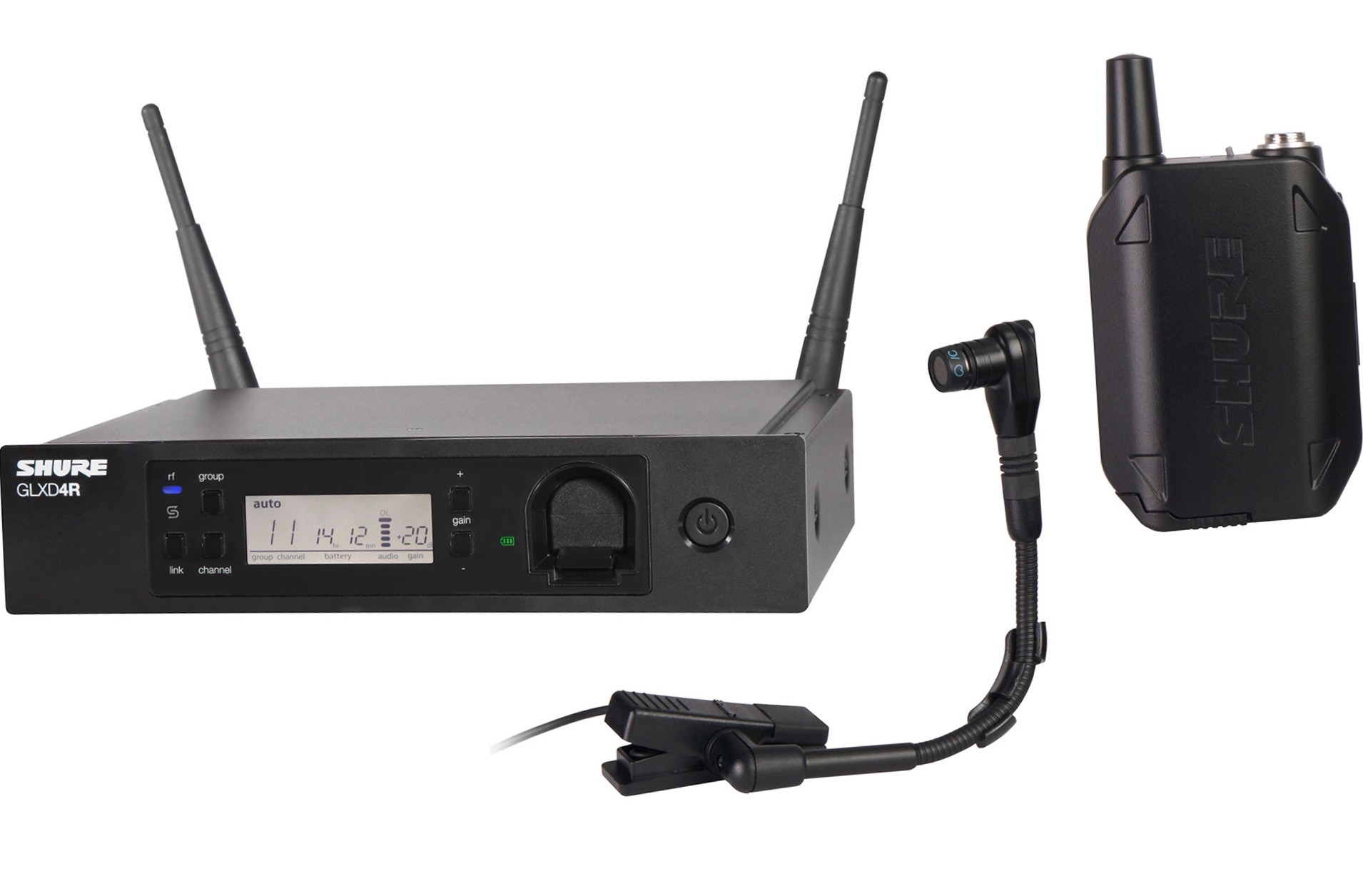 *NEW PRODUCT* SHURE GLX-D ADVANCED WIRELESS INSTRUMENT MICROPHONE